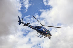 France Television's Helicopter Stock Photo