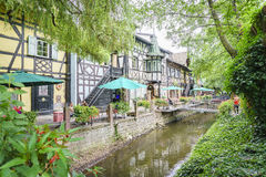France themed area - Europa Park in Rust, Germany Stock Photo