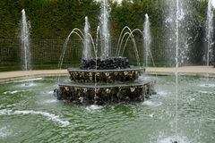 France, Three Fountains grove in Versailles Palace park Stock Photos