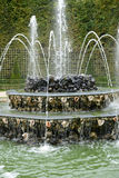 France, Three Fountains grove in Versailles Palace park Stock Images