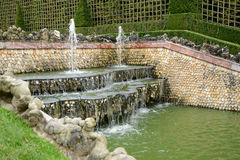 France, Three Fountains grove in Versailles Palace park Royalty Free Stock Image