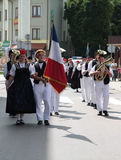 France traditional folk group Stock Images