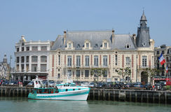 France, Trouville port in Normandy Stock Photos