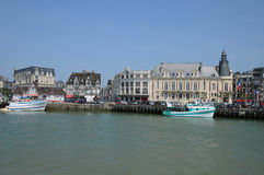 France, Trouville port in Normandy Stock Images