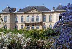 france uprawia ogródek Paris muzealnego rodin obraz stock