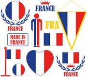 France. Vector illustration (EPS 10 Royalty Free Stock Photos