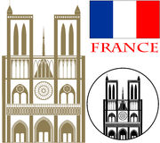 France. Vector illustration (EPS 10 Royalty Free Stock Image