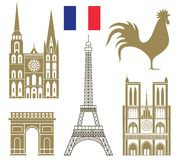France. Vector illustration (EPS 10 Stock Image