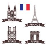 France. Vector illustration (EPS 10 Stock Photography