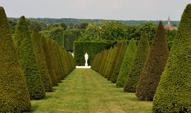 France Versailles Palace garden 1. Versailles Palace garden, view of statue Stock Photography