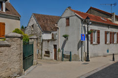 France, the village of Brueil en Vexin in Les Yvelines Royalty Free Stock Images
