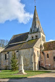 France, the village of Gaillon sur Montcient Royalty Free Stock Images