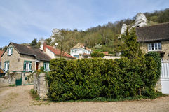 France, the village of Haute Isle in Val d Oise. Ile de France, the village of Haute Isle in Val d Oise Stock Images