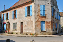 France, village of Jambville in Ile de France Royalty Free Stock Photo