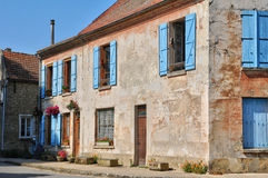 France, village of Jambville in Ile de France Royalty Free Stock Photography