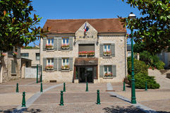 France, the village of Neuville sur Oise in Val d Oise Royalty Free Stock Photography
