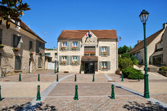 France, the village of Neuville sur Oise in Val d Oise Royalty Free Stock Image