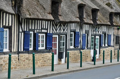 France, village of Tourgeville in Normandie Royalty Free Stock Photography