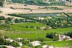 france vingård Royaltyfri Fotografi