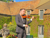 France: Violinist Jérémie Levi-Samson Royalty Free Stock Photo
