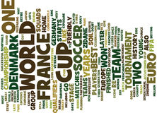 France Vs Denmark Text Background  Word Cloud Concept Royalty Free Stock Photography