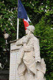 France, the war memorial of Les Mureaux Stock Photos