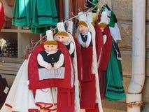 The traditional bigouden bretonne stock photo