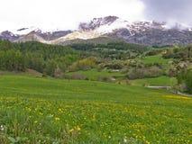 france wiejski krajobrazowy obraz royalty free