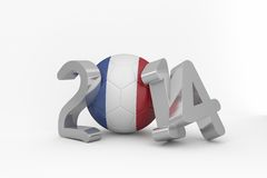 France world cup 2014 Royalty Free Stock Photos