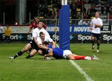 France XIII vs Scotland XIII Stock Photos