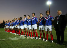 France XIII vs Scotland XIII Royalty Free Stock Photo