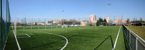 Free France, Yvelines,  Sports Ground In Les Mureaux Stock Image - 63425361