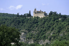France zamku udział Zdjęcia Royalty Free