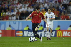 FranceFootball 2009 Best 30Players Cesc Fabregas. Cesc Fabregas (Spain) during the Euro 2008 Spain-Russia 4:1 stock photos