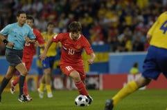 FranceFootball 2009 beste 30Players Andrei Arshavin stockbild