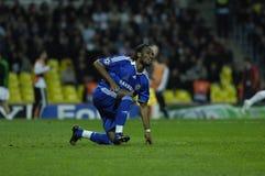 FranceFootball 2009 i migliori 30Players Didier Drogba Fotografia Stock Libera da Diritti