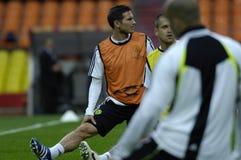 FranceFootball 2009 melhores 30Players - Frank Lampard imagem de stock