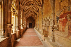 Frances, abbaye de Cadouin dans Perigord photos libres de droits