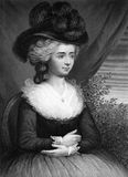Frances Burney Arkivbild