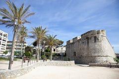Frances, côte bleue, Antibes, le vieux village Photographie stock libre de droits