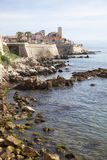 Frances, côte bleue, Antibes, le vieux village Photo stock