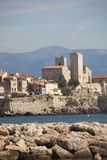 Frances, côte bleue, Antibes, le vieux village Photographie stock