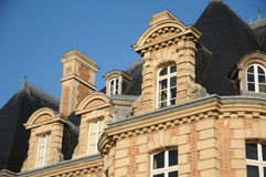 Frances, château de Becheville dans Les Mureaux image libre de droits