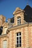Frances, château de Becheville dans Les Mureaux photo stock