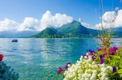 Frances d'Annecy de lac Images stock