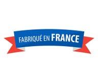 Frances d'en de Fabrique - faites dans les Frances Photo libre de droits