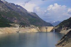 Frances de barrage de Tignes Image libre de droits
