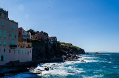 Frances de Collioure Photos stock