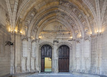 Frances de DES Doms Avignon Provence de Notre Dame Image stock