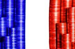 Frances de drapeau de frankreich de Flagge Images stock